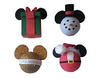 Disney Antenna Topper Set - Christmas Holiday Pack - Set of 4