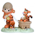 Disney Precious Moments Figurine - Put a Little Bounce in your Heart