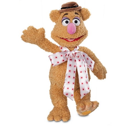 Disney Plush - Fozzie Bear Plush - The Muppets - 16''