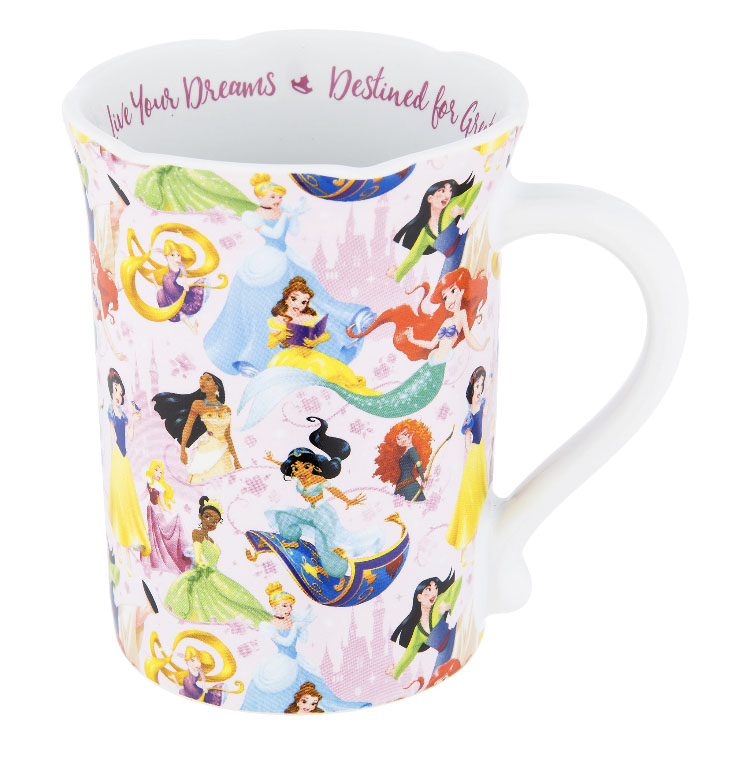 Disney Coffee Mug - Princesses - Live your Dreams
