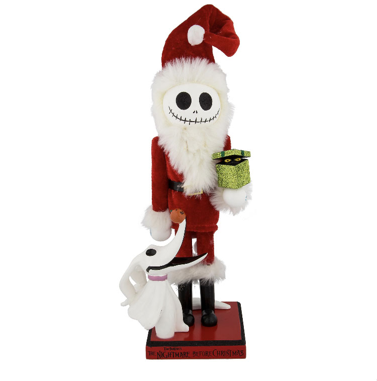 Disney Nutcracker Figure - Jack Skellington and Zero - 14