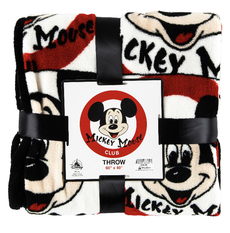 Disney Throw Blanket - Mickey Mouse Mouseketeer