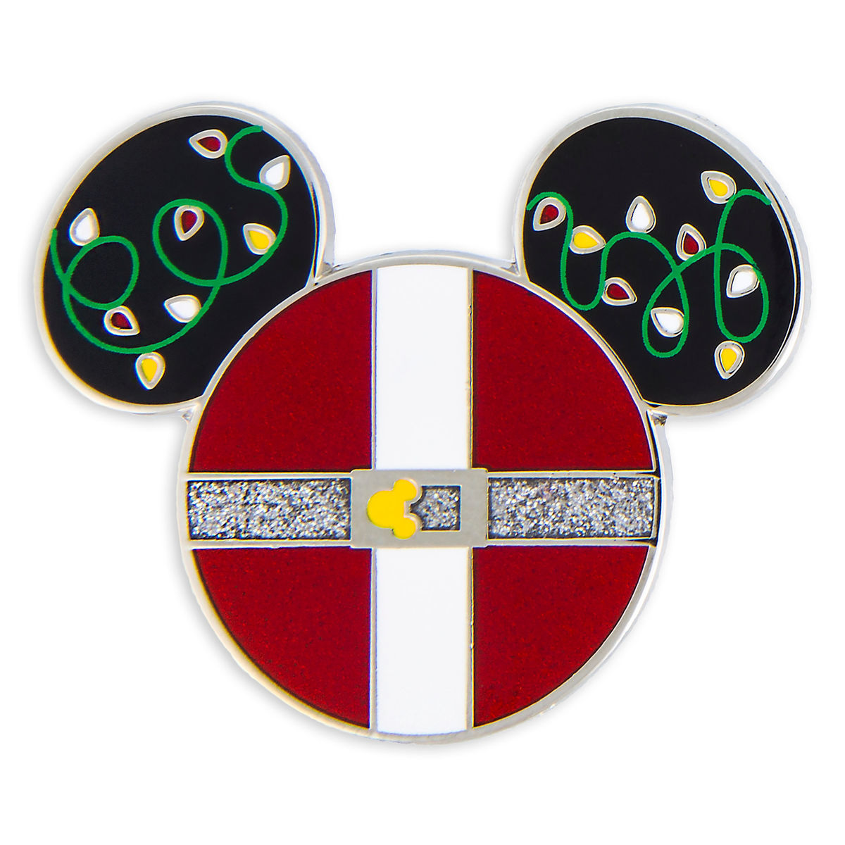 Disney Holiday Pin - Santa Mickey Mouse Icon