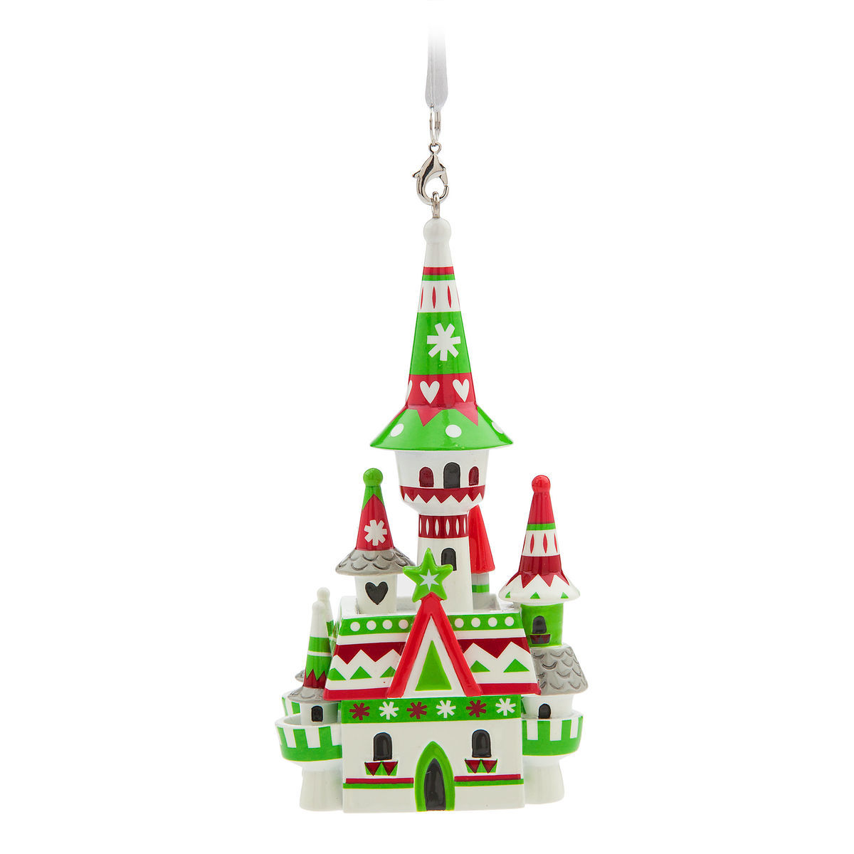 Disney Christmas Ornament - Nordic Winter - Fantasyland Castle