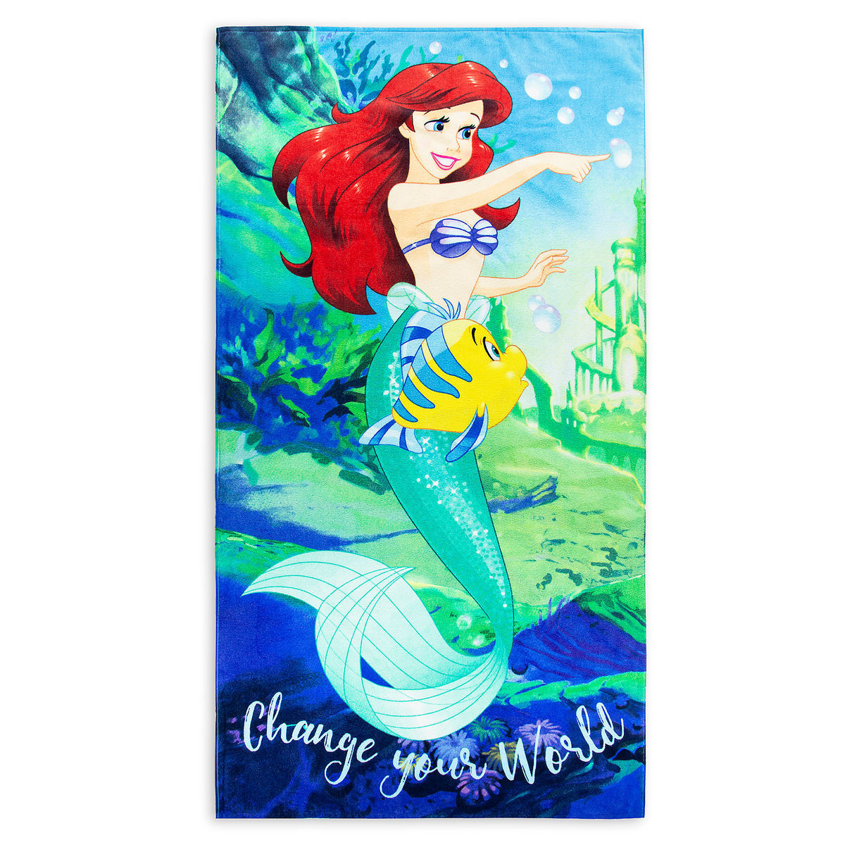Disney Beach Towel - Ariel - Change Your World