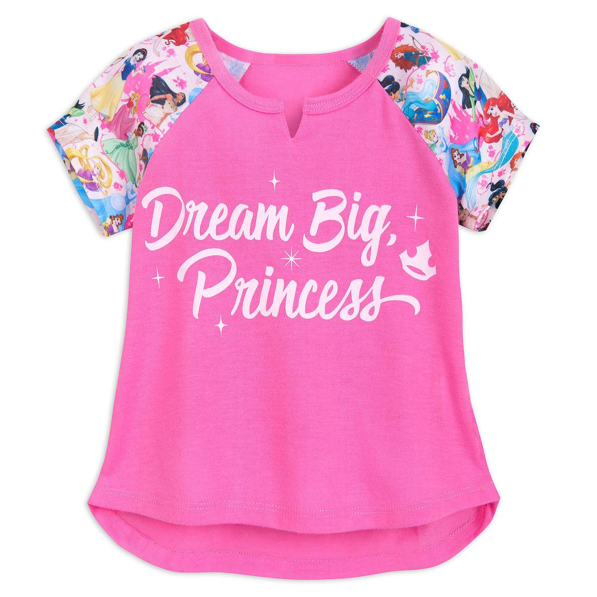 e02978140 Disney Pajama Set for Girls - Princess - Dream Big Princess