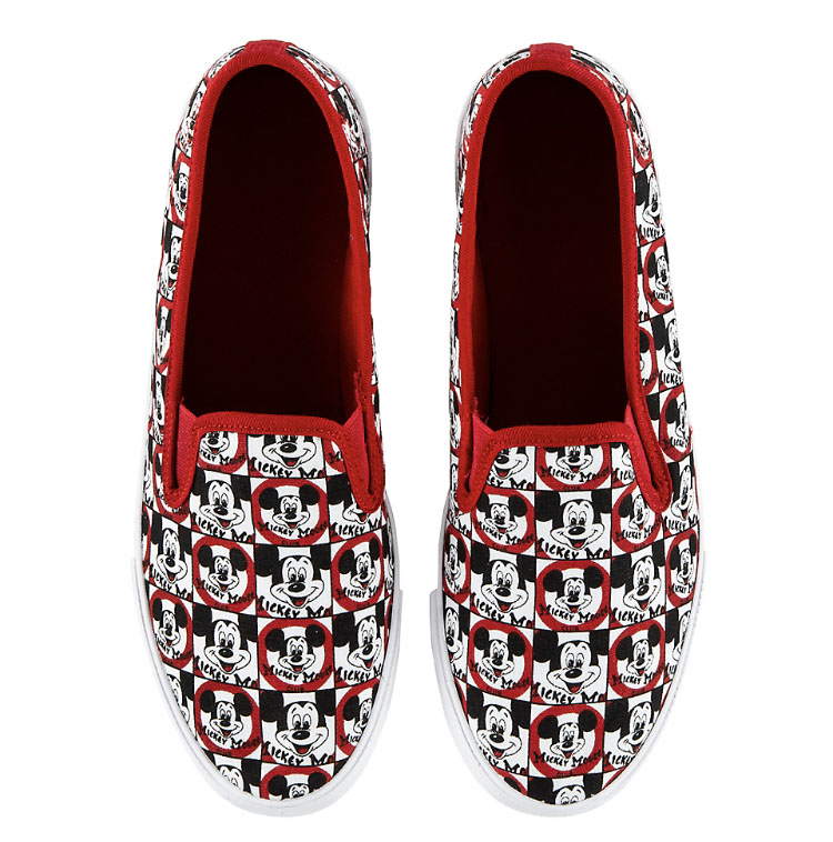 Disney Canvas Shoes for Women - Mickey