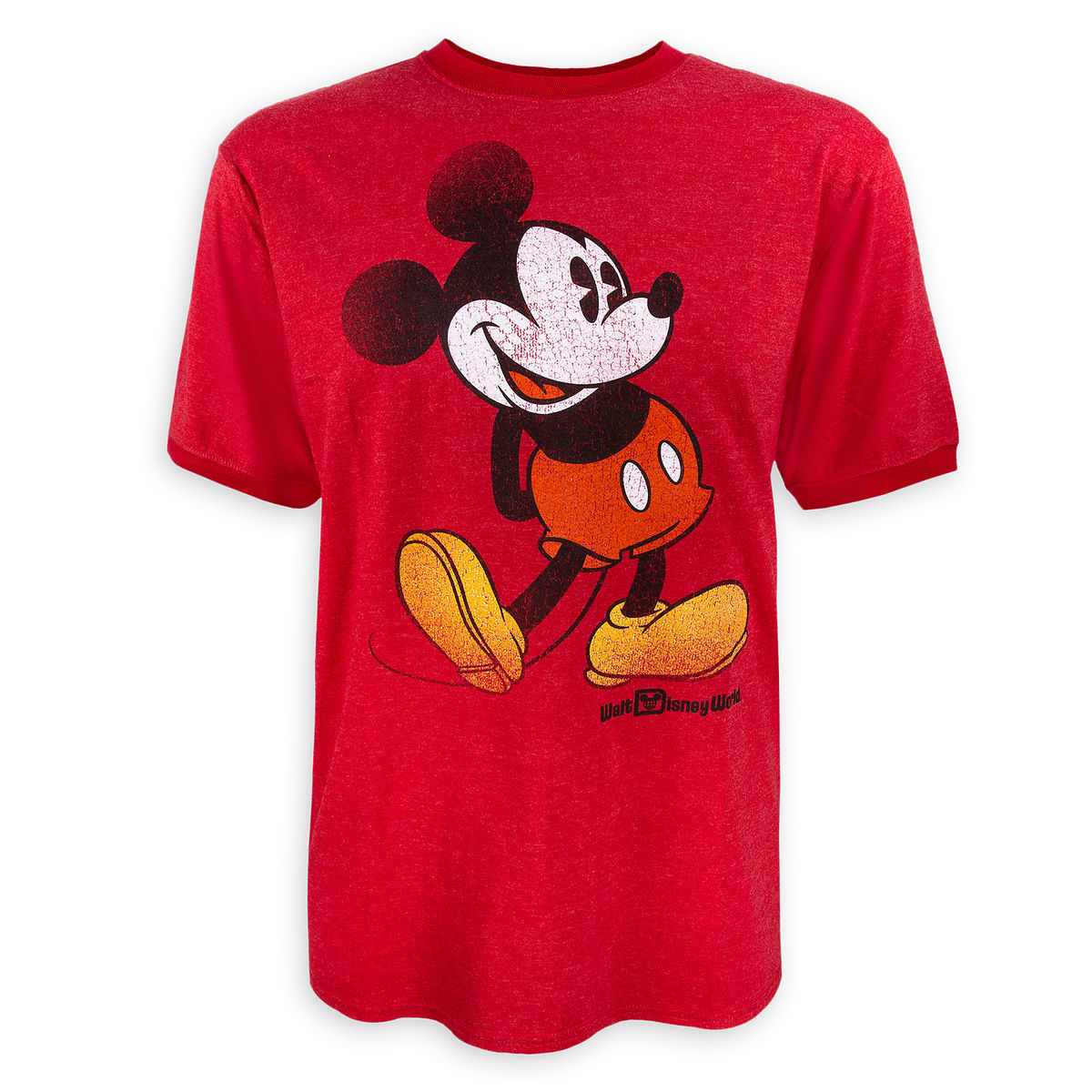 6014939f2 Disney T-Shirt for Men - Mickey Mouse - Walt Disney World - Red