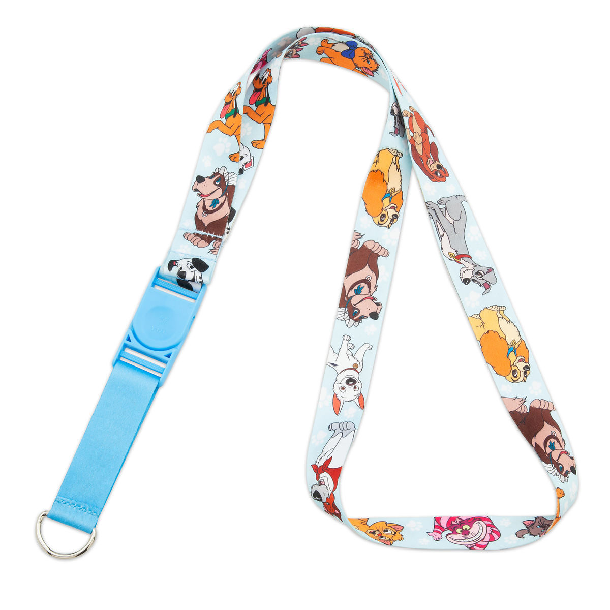 Disney Pin Lanyard - Disney Dog and Cats - Reversible