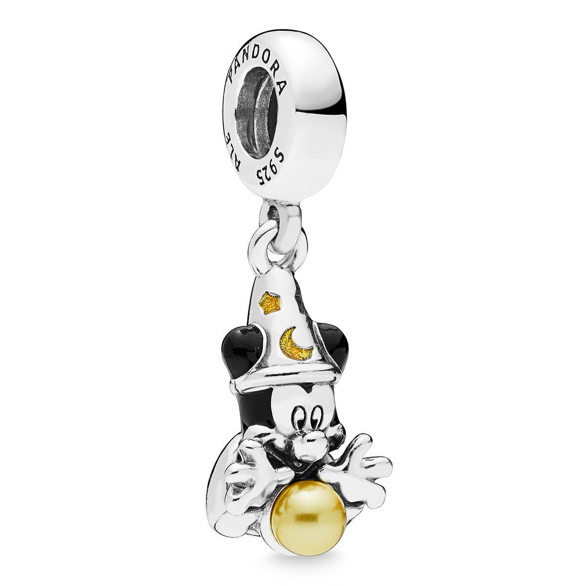 Disney Pandora Charm Sorcerer Mickey Mouse Fantasia