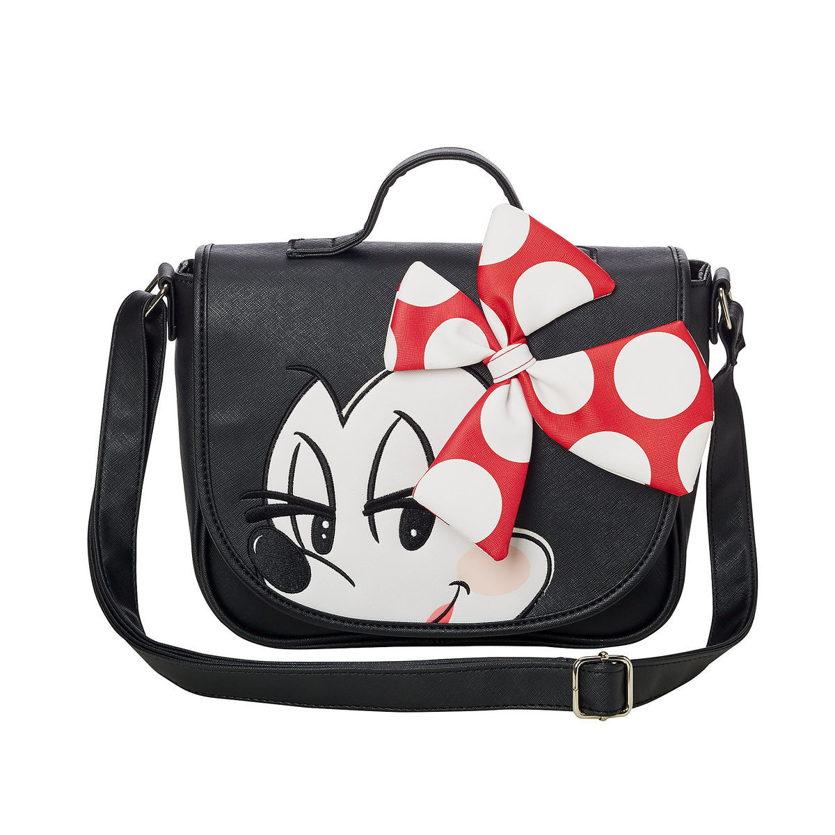 6c9c7773f41 Add to My Lists. Disney Loungefly Crossbody Bag - Minnie Mouse with Bow
