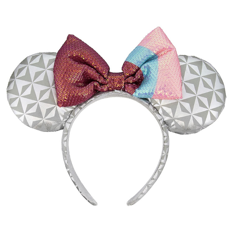 Disney Ears Headband Hat - Epcot Bubble Gum Wall - Red, Pink and Blue