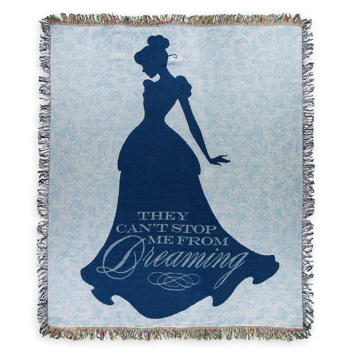 Disney Tapestry Woven Throw - Cinderella - Can't Stop me from Dreaming