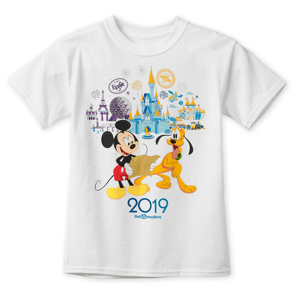 Disney Child Shirt - 2019 Walt Disney World - Mickey and Pluto