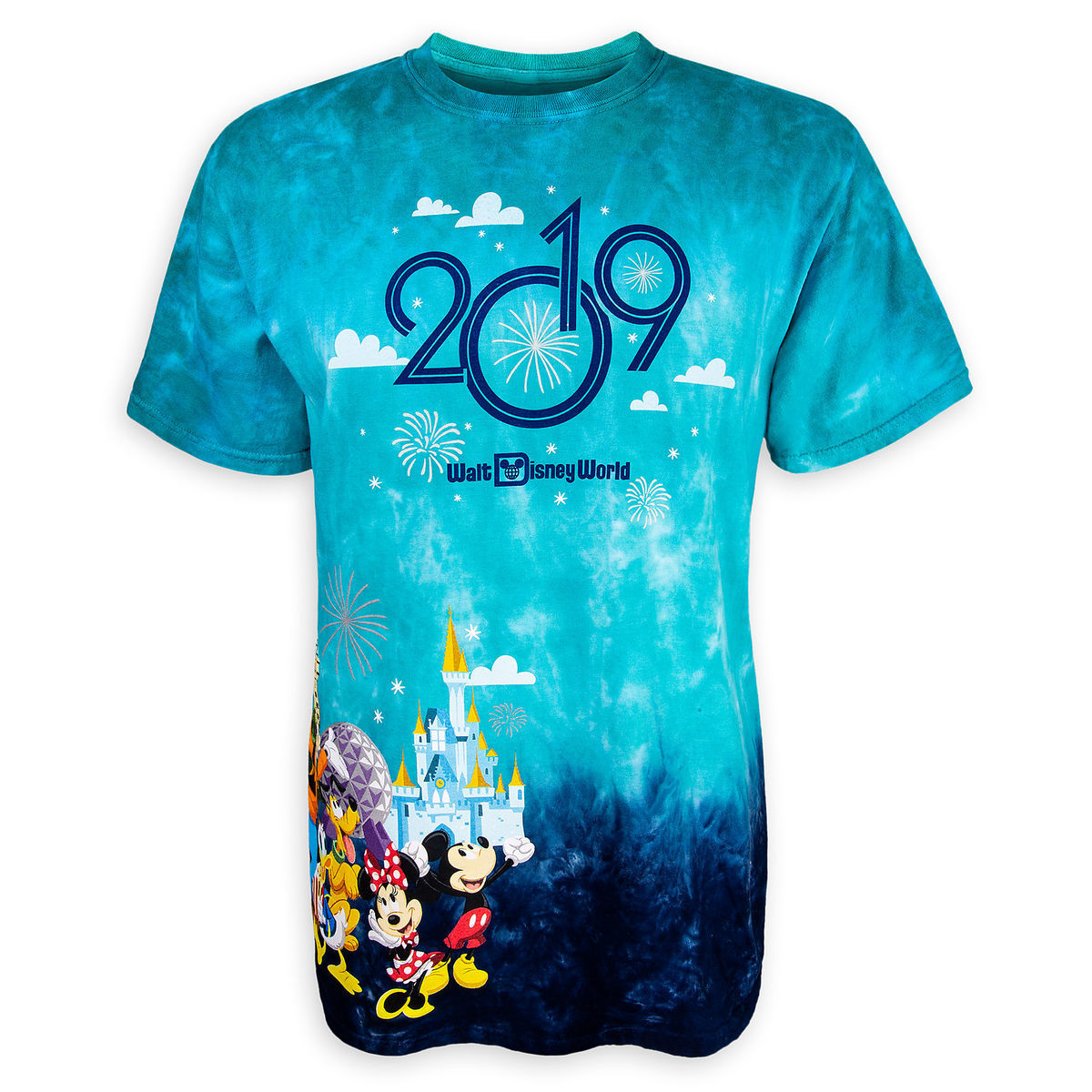 1e9016775e7 Disney Adult Shirt - 2019 Mickey Mouse and Friends - Tie-Dye