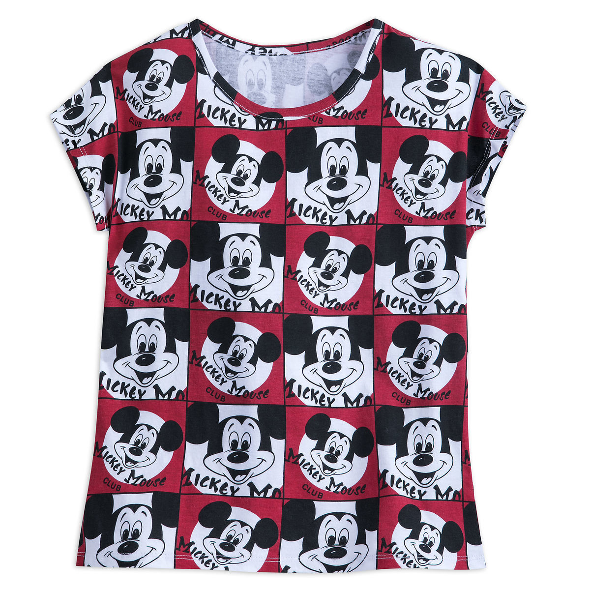 1b1e6d2e82697 Add to My Lists. Disney T-Shirt for Women - Mickey Mouse Club Allover Print