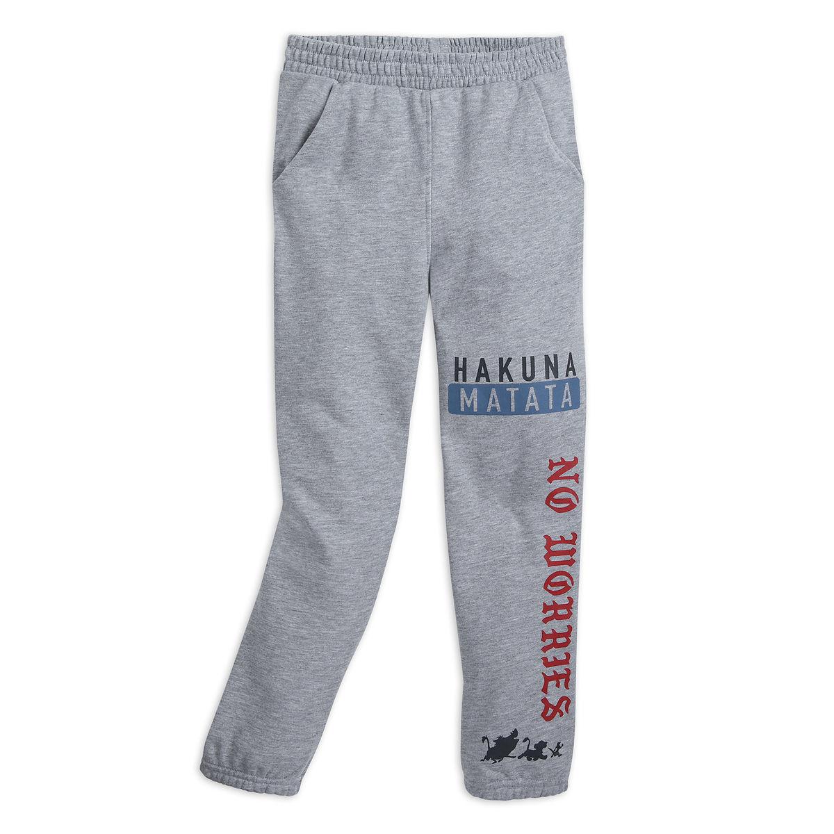 b7ed63159e4fa6 Add to My Lists. Disney Sweatpants for Kids - The Lion King - Hakuna Matata