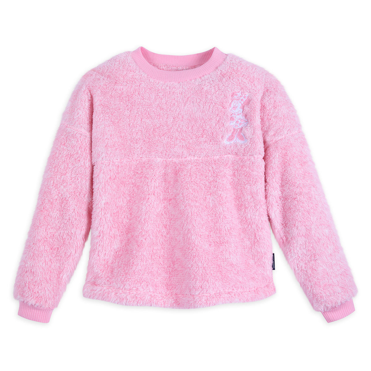 Disney Spirit Jersey for Girls - Minnie Mouse Fuzzy - Pink