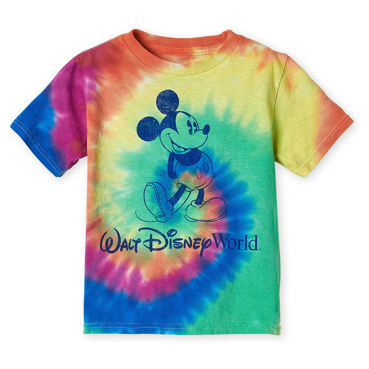 Disney Toddlers T-Shirt - Mickey Mouse Tie-Dye - Walt Disney World