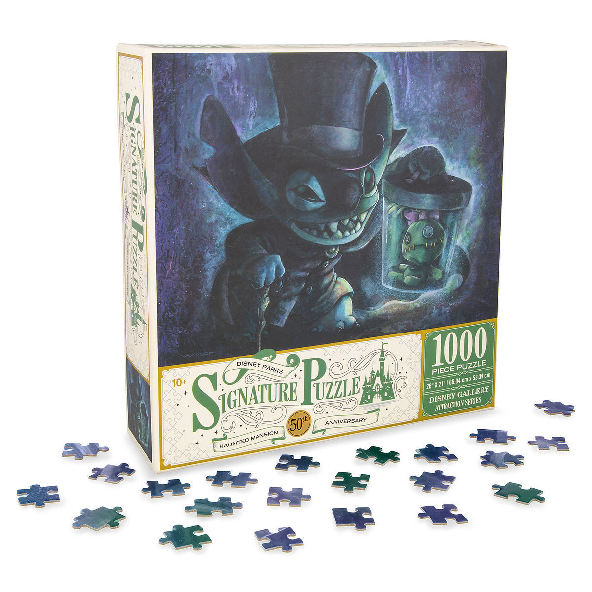 Disney Jigsaw Puzzle - Stitch Haunted Mansion