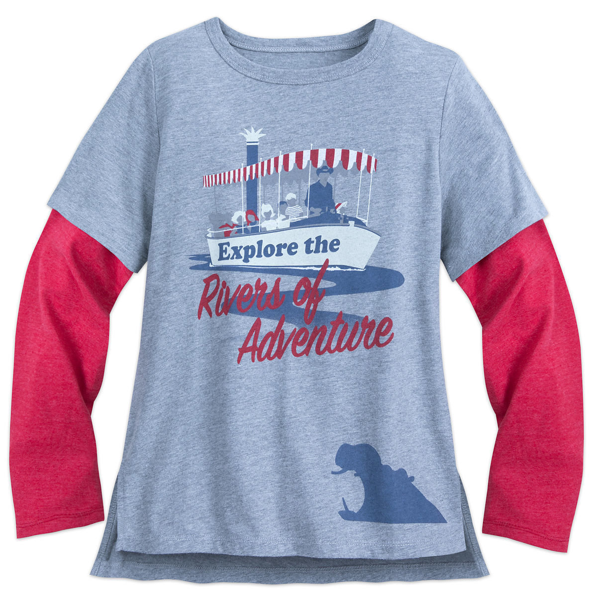 Disney Shirt for Kids - Jungle Cruise Double-Up - Rivers of Adventure