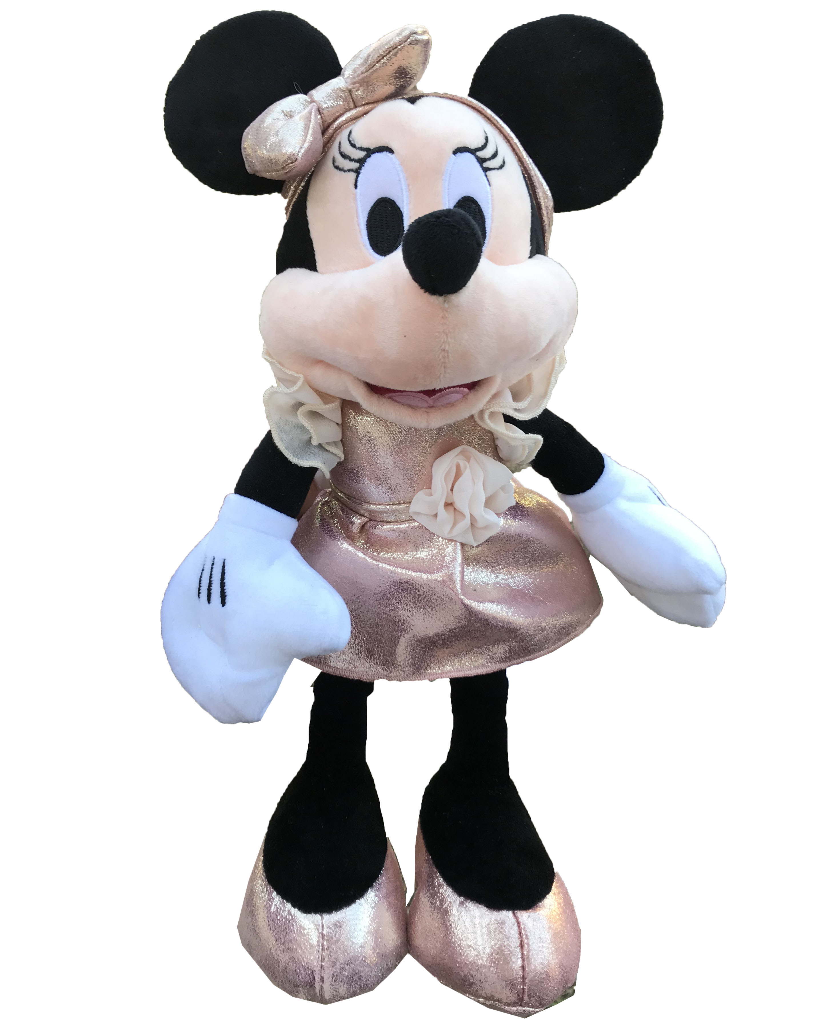 Disney Plush - Minnie Mouse - Rose Gold - 11