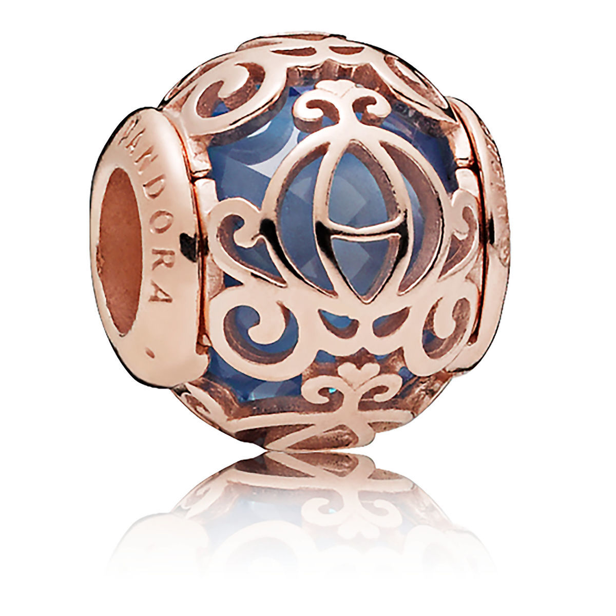 pandora charm rose gold