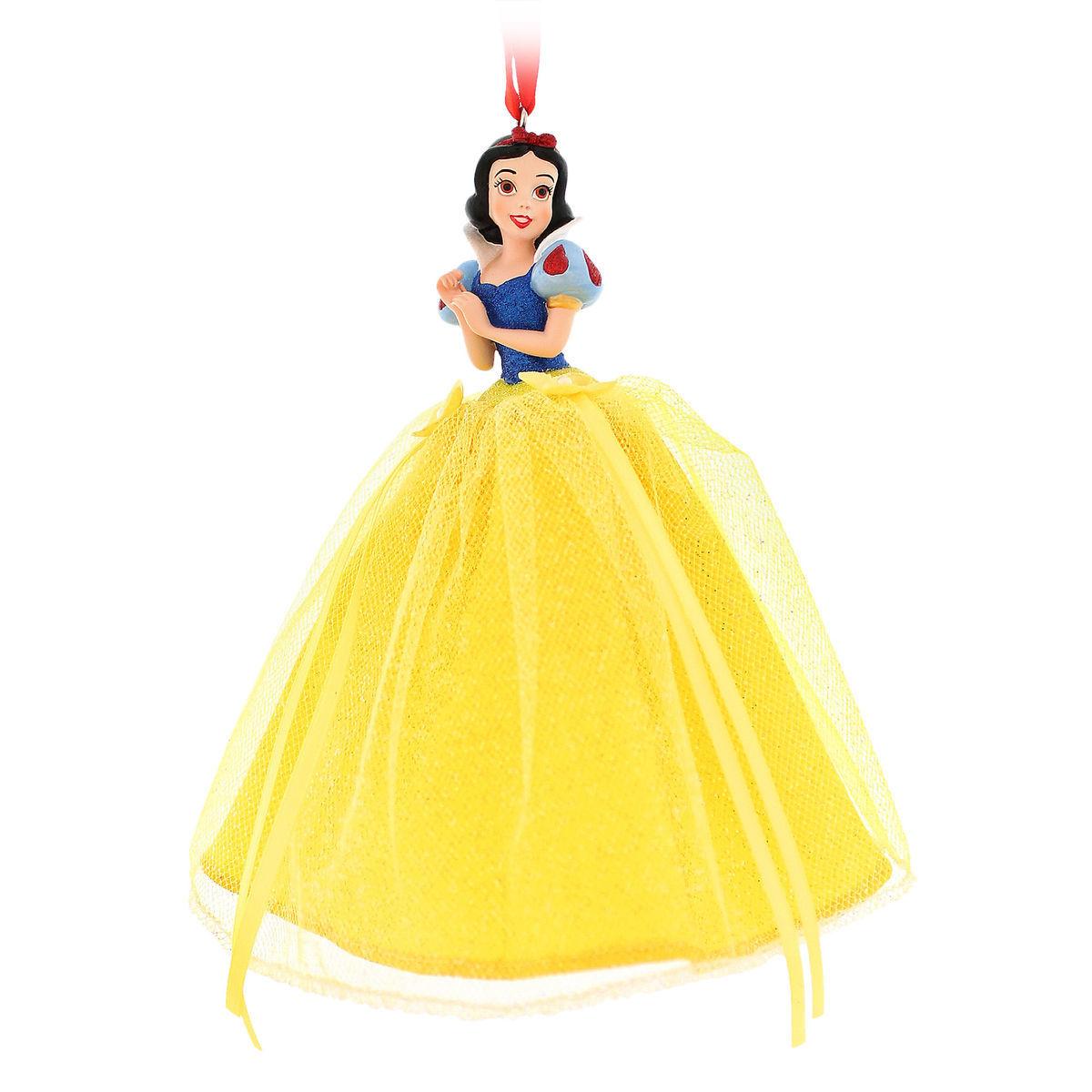 Disney Christmas Ornament - Princess Snow White - Tulle Gown