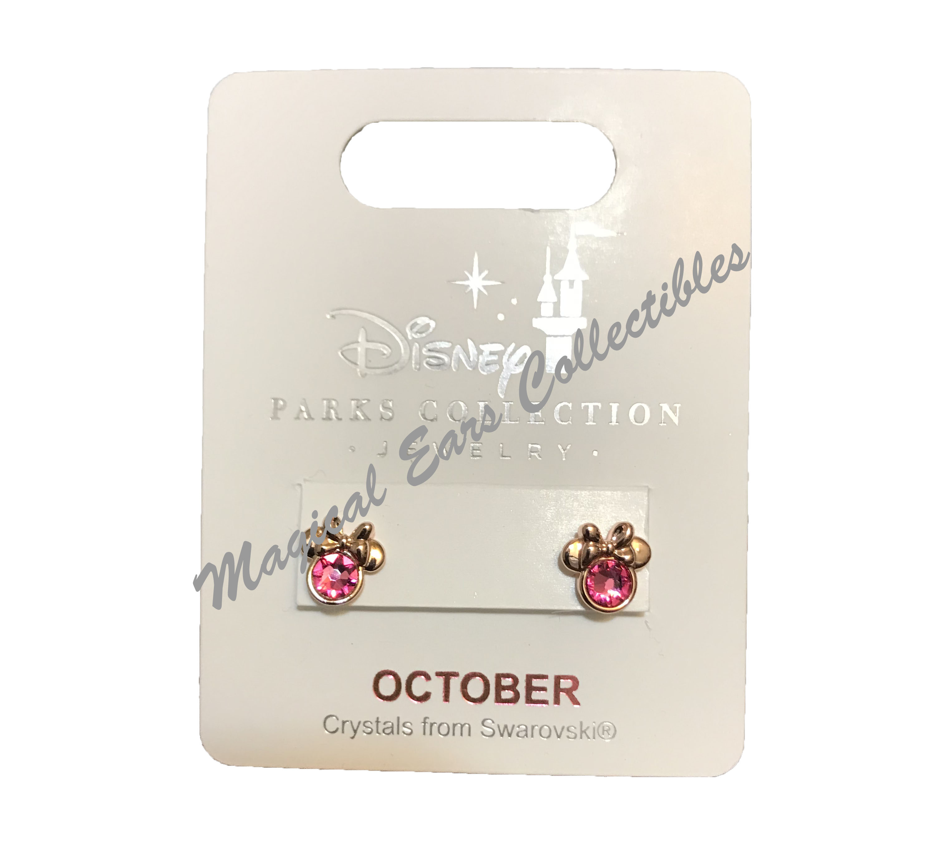 651642b7e Add to My Lists. Disney Birthstone Earrings - Minnie Mouse ...