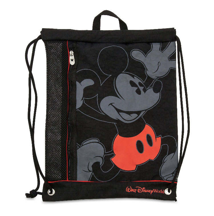 Disney Drawstring Bag Mickey Mouse Timeless Walt World