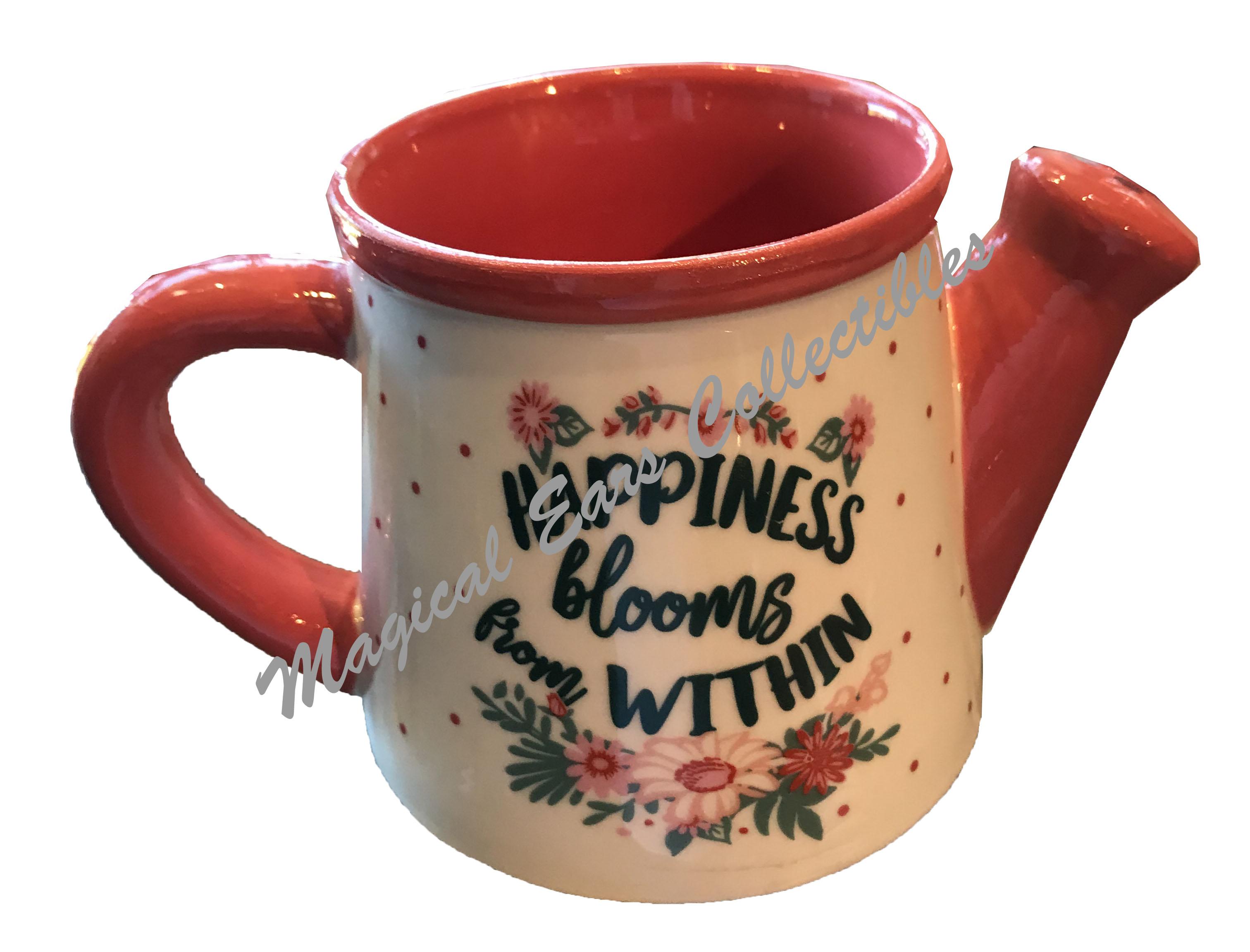 disney coffee mug - 2019 epcot flower and garden - minnie watering can