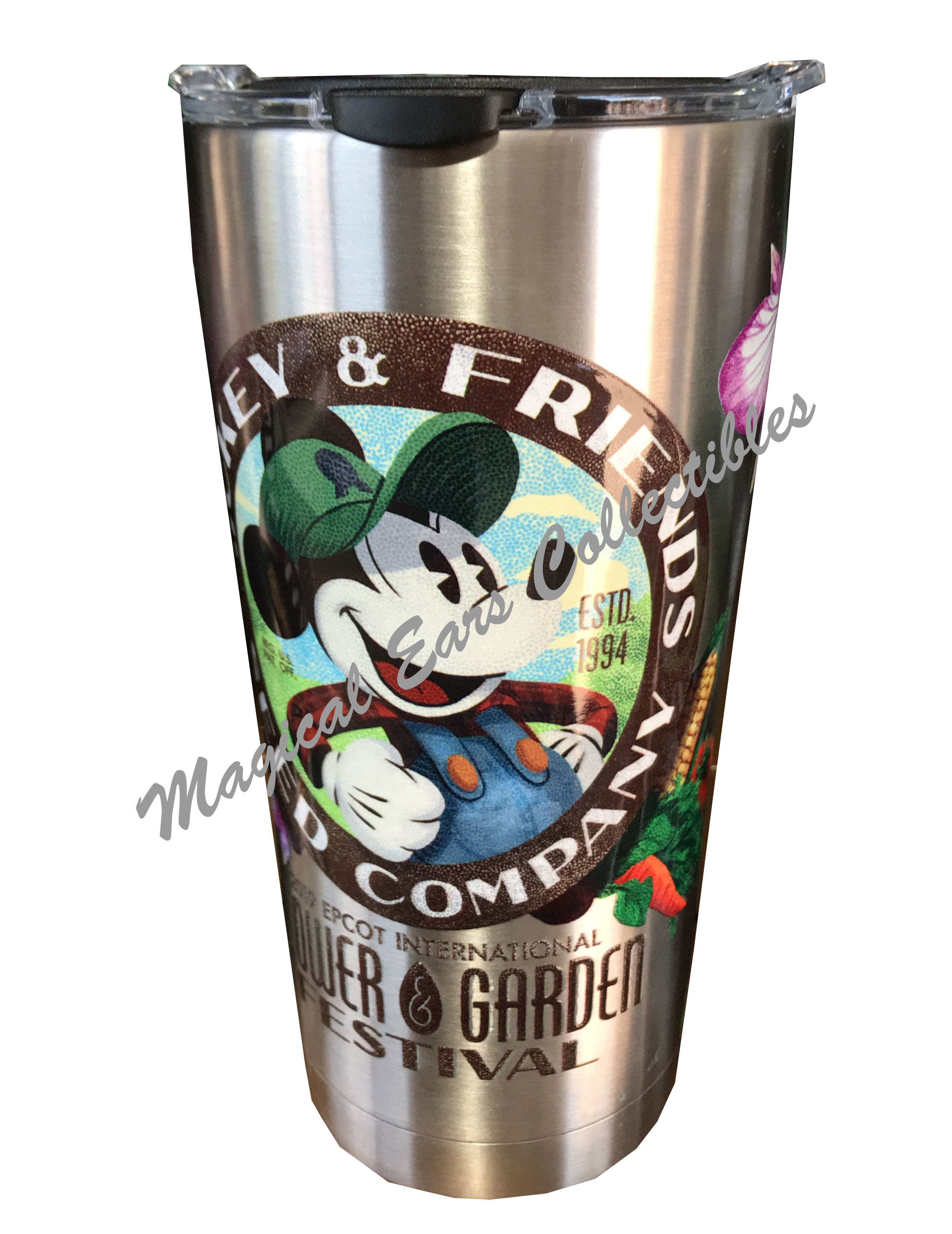 disney tervis tumbler - 2019 flower and garden - mickey mouse