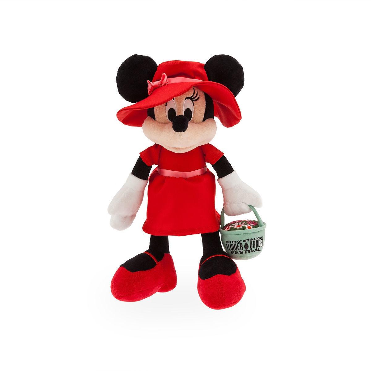 Christmas Minnie Ears 2019.Disney Plush 2019 Epcot Flower And Garden Festival Minnie Mouse