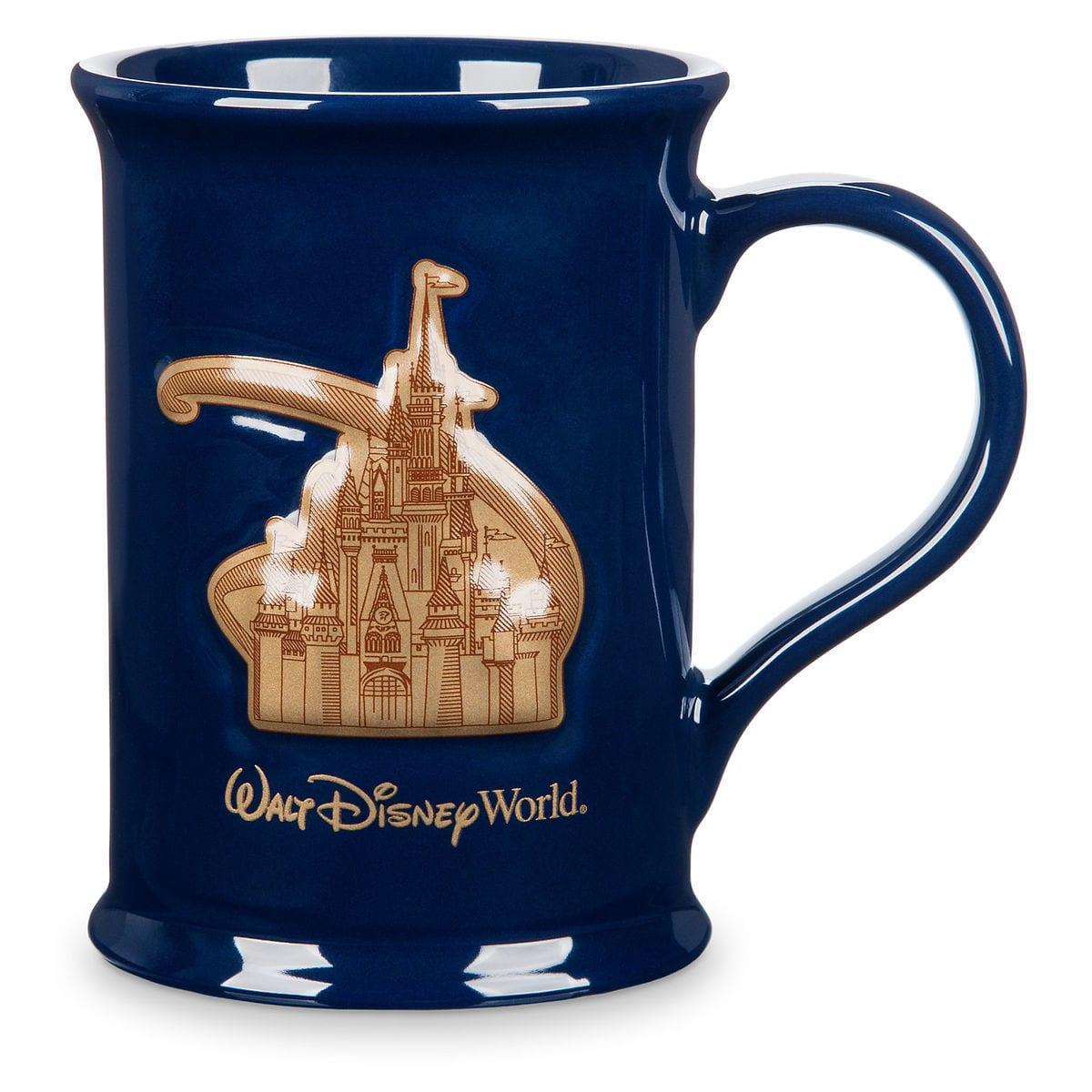 Disney Coffee Mug - Walt Disney World Castle Medallion-KitMu