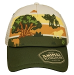 Disney Hat - Baseball Cap - Animal Kingdom - Tree of Life with Animals