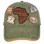 Disney Hat - Baseball Cap - Kilimanjaro Safaris Pins - Animal Kingdom