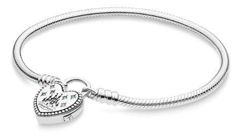 Disney Pandora Bracelet - Fantasyland Castle Heart -Pand-C96
