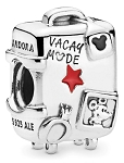 Disney Pandora Charm - Mickey and Minnie - Vacay Mode Suitcase