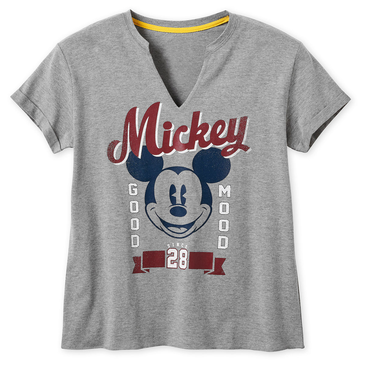 Disney Shirt for Women - Mickey Mouse - Good Mood