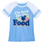 Disney Shirt for Women - Mickey Mouse - I'm here for the Food