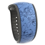 Disney Magic Band 2 - Stitch Poses - Blue
