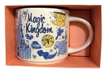 Disney Coffee Mug - Starbucks - Been There Series - Magic Kingdom