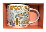Disney Coffee Mug - Starbucks - Been There Series - Epcot