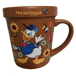 Disney Coffee Mug - 2019 Flower and Garden - Donald Duck Passholder