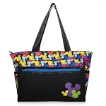 Disney Tote Bag - Mickey Mouse Icon - Walt Disney World - Colorful