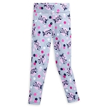 Disney Leggings for Girls - Minnie Mouse Polka Dot - Gray