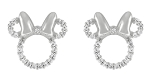 Disney Rebecca Hook Earrings - Minnie Mouse Icon - Sterling Silver