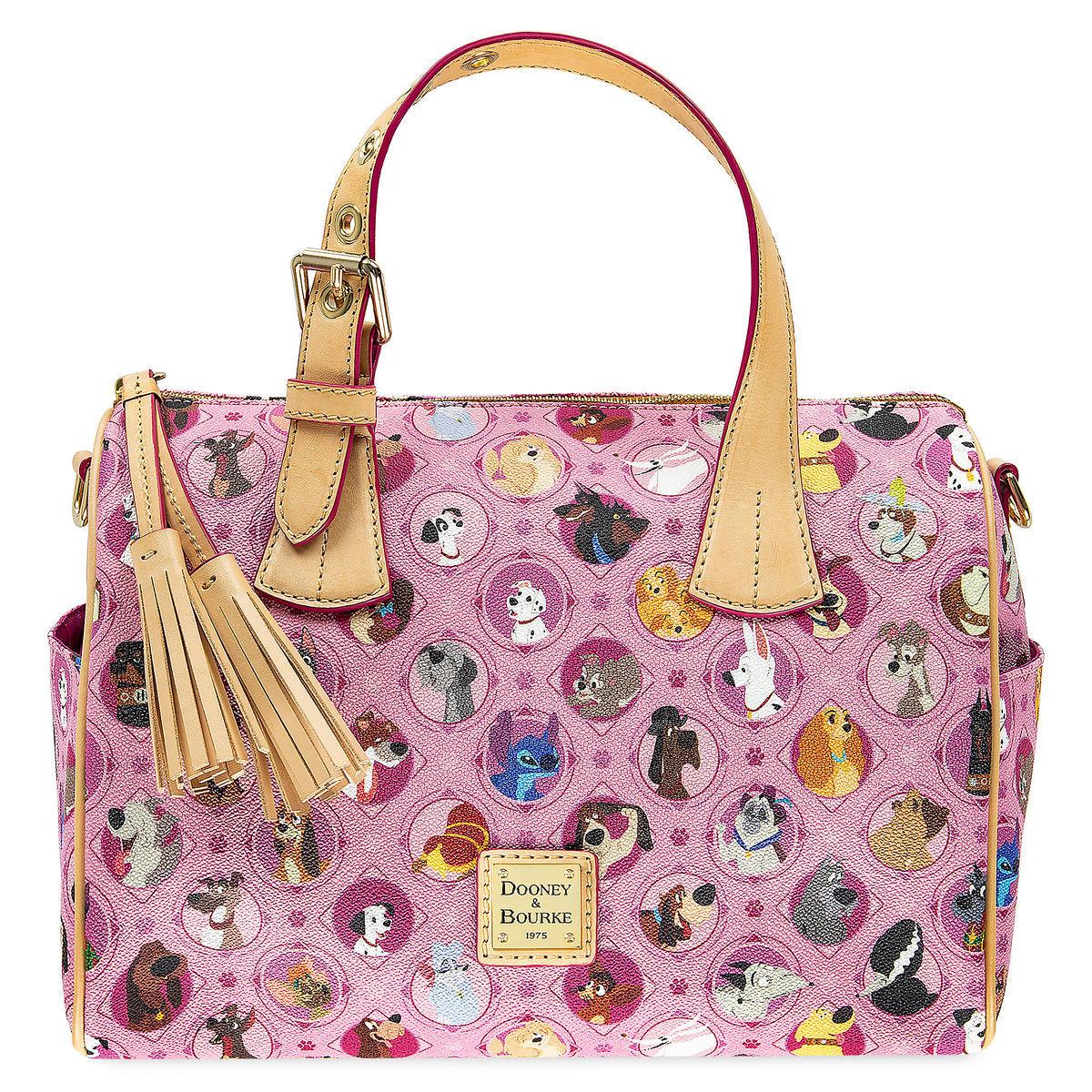 dafae9452e Disney Dooney   Bourke Bag - Disney Dogs - Satchel - Pink
