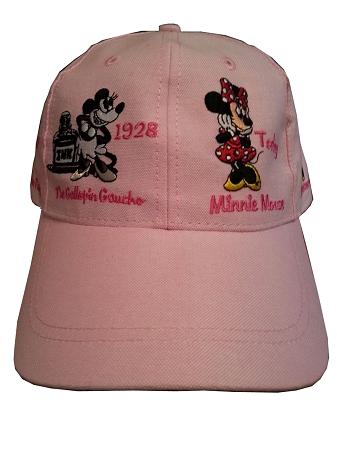 b890b363e3dcb Disney Hat - Baseball Cap - Through the Years Minnie Mouse - Pink