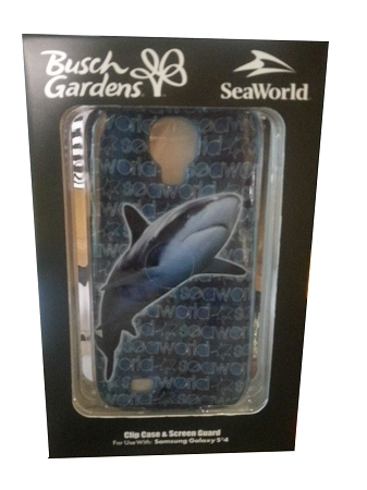 Sea World Samsung Galaxy 4 Phone Case - Shark